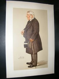 Vanity Fair Print: 1895 Baron Macnaghten, Legal
